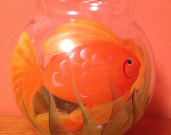 Goldfish Glass Bowl