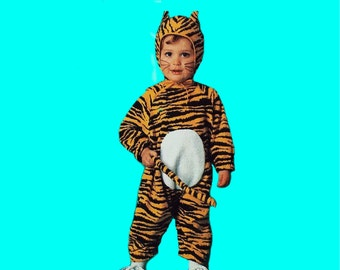 Tiger Costume for Baby or Child Size1/2 to 4  Custom-made