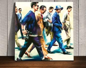 Original wall art, art print, 50 x 50 cm,