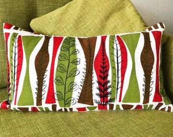 Eames era Heals Vintage Cushion Cover - Botanic Design