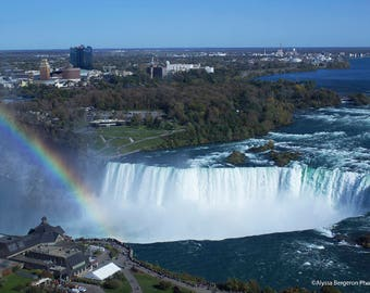 Rainbow Over Niagara Falls (prints)