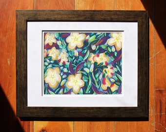 Flower Print, Fall