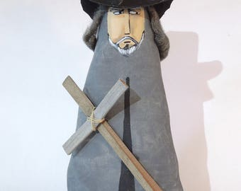 Witch Finder General Soft Sculpture Prim Doll
