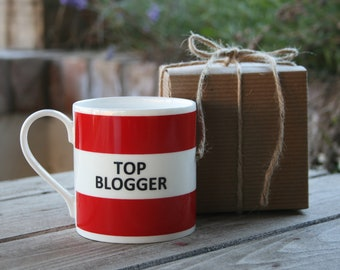 Top Blogger Hoop Mug