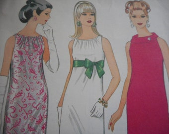 Vintage 1960's McCall's 8990 Dress Sewing Pattern Size 12 Bust 32