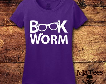 Book Worm; Book Nerd; Book Lover; Reading; Book Lover Gift; Boo Nerd Shirt; Reading Shirt; Book Shirt; Book; Library; T-Shirt; Shirt; Tee