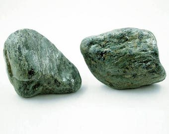 Green Stone Knobs Natural Rock Cabinet Drawer Pulls