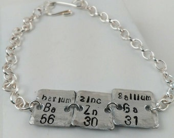Periodic table element charm etsy periodic table jewelry urtaz Image collections