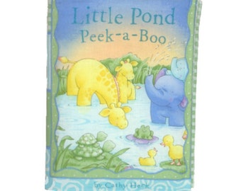SOFT / CLOTH BOOK - Little Pond Animals