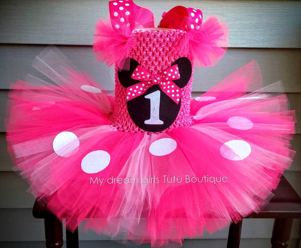 Vestido de Minnie mouse para bebe tutu Minnie Mousse para