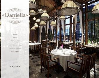 custom wordpress website design for restaurant boutique designer custom website design Wordpress website for small business and artisans