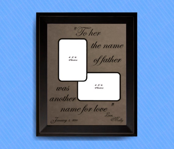 Father\'s Day, Father of the Bride Gift, Father Daughter Frame ...
