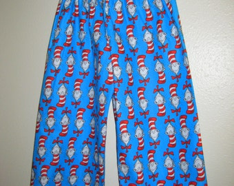 Cat in the Hat Childrens Lounge/ Sleep Pants