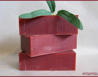 Bergamot Orange Organic Aromatherapy Handmade Cold Process Natural Soap | Rich Moisturizing Luxurious Lather | Vegan | No Gluten - 4 oz