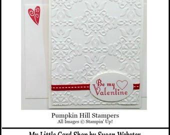Be my Valentine - Valentine's Day Card