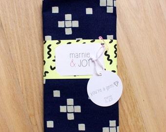 navy blue minimalist decorative cushion cover