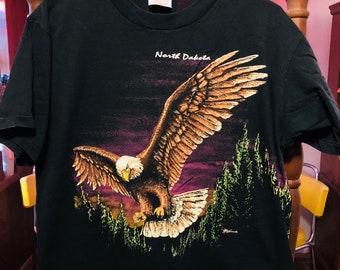 90's North Dakota Tourist Shirt