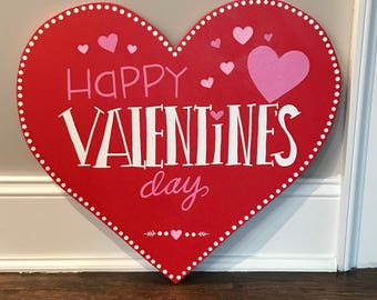 Valentines Day Wood Sign