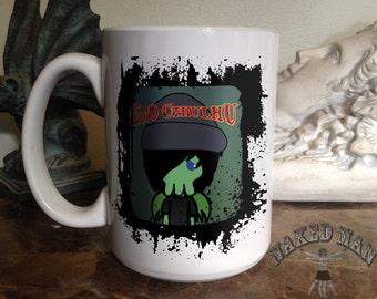 Emo Cthulhu 15 oz Coffee Mug