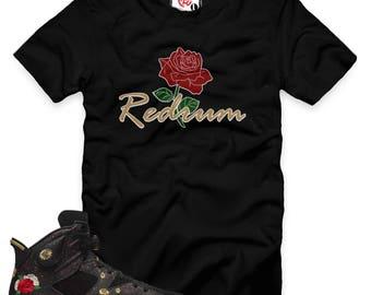 Chinese New Year 6 Rose Redrum T-Shirt