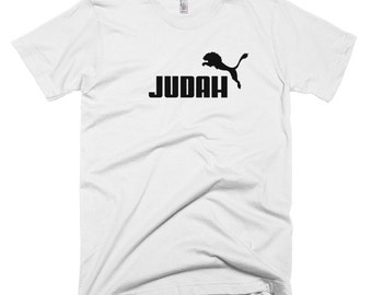 Lion of Judah T-Shirt - Puma Jewish tee clothing Jerusalem Kingdom of Israel inspired apparel clothing
