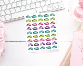 Gym Bag Fitness Planner Stickers