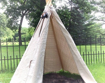 Teepee - Fur and Feathers Package