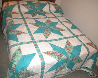 Big Block Stars Quilt Pattern