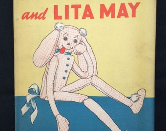 Vtg 1942 Children's Book - The Wooloo and Lita May - HC / DJ - Illustrations by Margaret Temple Braley