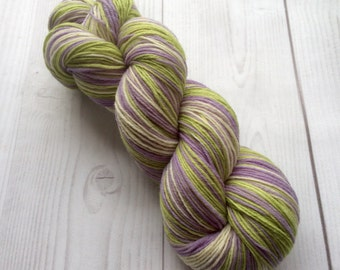 SALE Crazy sock yarn -  merino 80%, handdyed yarn 100g
