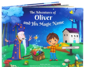 Boy's Birthday Personalised Story Book - Great Birthday Present for Children Aged 0-8 Years Old, 2nd Birthday Keepsake, NEXT DAY DISPATCH