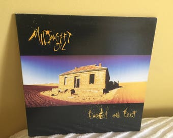 Midnight Oil Diesel and Dust Record Album Vinyl NEAR MINT CONDITION