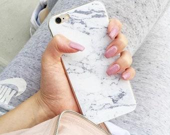 Marble iPhone5/iphone6/ 6Plus /iphone7 /7Plus Case (Soft)