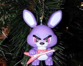 FNAF Five Nights at Freddy's Christmas Ornament Bonnie
