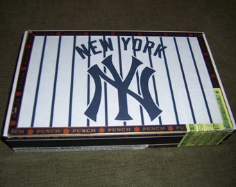 Yankees Cigar Box Baseball Stadium