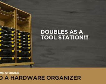 Sortimo Storage DIY plans - for Harbor Freight organizers