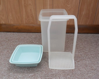 Large TUPPERWARE Pick-A-Deli Pickle/Olive Keeper 3 pieces
