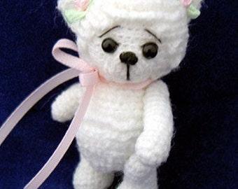 Thread Crochet Pattern - Miniature Lamb - Crochet Lamb - Crochet Sheep - PDF Format