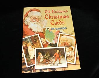 Old Fashioned Christmas Cards 23 out of 24 cards included DOVER Publications