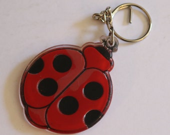 Vintage New Ladybug Keychain