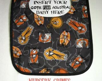Jack Skellington & Zero Baby Bib