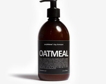 Oatmeal, Coconut & Almond Dog Puppy Shampoo by Purplebone | NEW