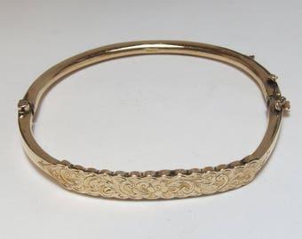 Antique Edwardian 9K Bracelet