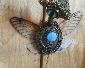 Steampunk Dragon-fairy : King of the Moon