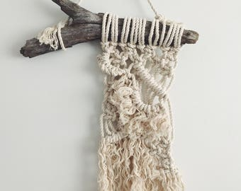 Macrame Wall Hangings and Plant Hangers