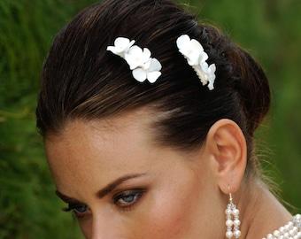 Bridal Set Flower Hair Accessory Headpiece by Veils of Art Style VE604