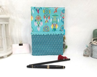 Secret book with lock, diary, girl gift, artist book, notebook, dream your dreams, travel book, Star, Japan