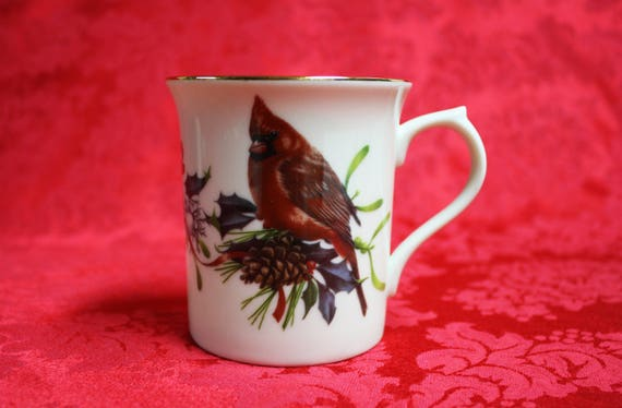 Lenox winter greetings cardinal mug winter greetings m4hsunfo