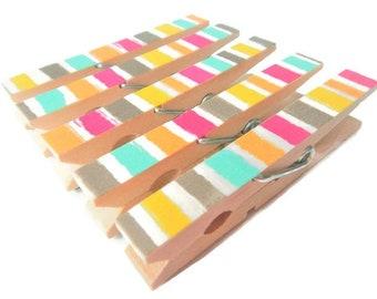 Decorative Clothespins. Kids Artwork Display. Kids Art Display. Clothes Pins. Clothespins. Kid's Artwork. Clothespin Magnets. Clothespin