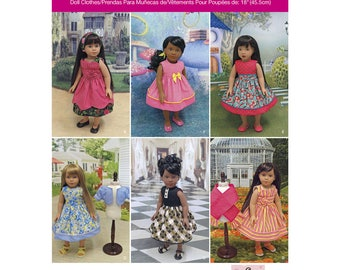 """Simplicity Pattern 1220 18"""" Doll Clothes"""